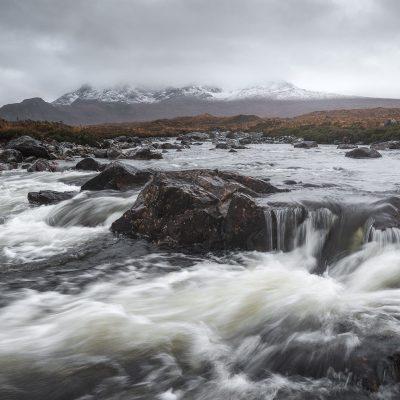 Cullin mountain range on Isle of Skye