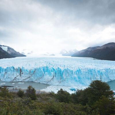 Panoramic view of famous Perito Moreno Glacier