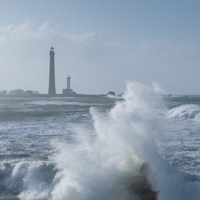 Ile Vierge lighthouse - Phare de l'ile Vierge