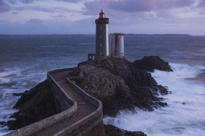 Sunset at Petit Minou Lighthouse - Phare du Petit Minou